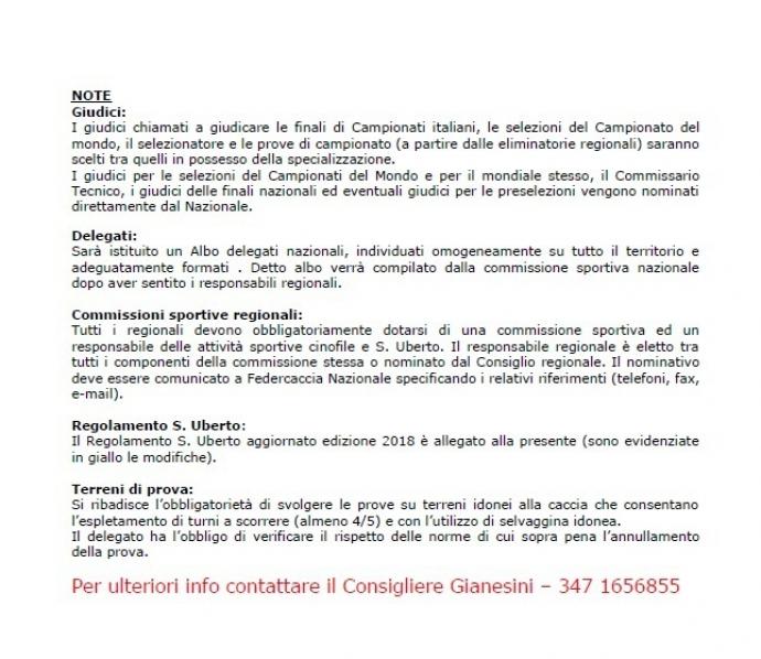 calendario manifestazioni FIDC2018b