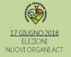 17 GIUGNO 2018 - ELEZIONI NUOVI ORGANI ACT -