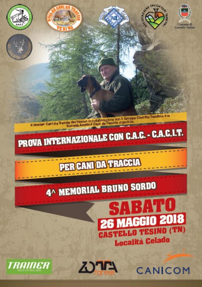 copertina memorial Bruno Sordo 2018